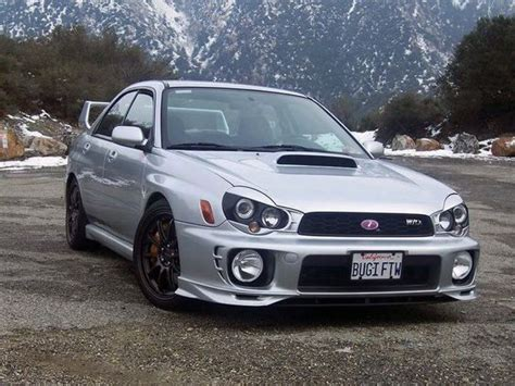 custom subaru bugeye subaru impreza wrx with custom eyelids that i