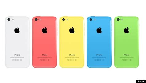 A Picture Of A Iphone 5c