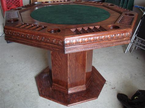 octagon poker table plans poker table 3