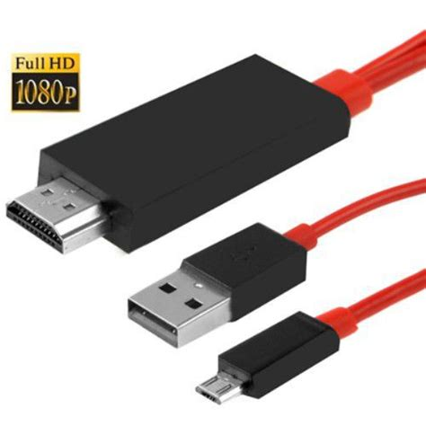 Kabel Usb Wifi hdmi mhl micro usb adapter kabel zu samsung galaxy note 10