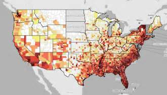 interactive aids map updated to show impact in major u s