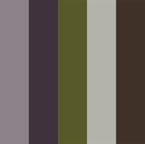 muted purple adobe kuler muted purple olive look book colours