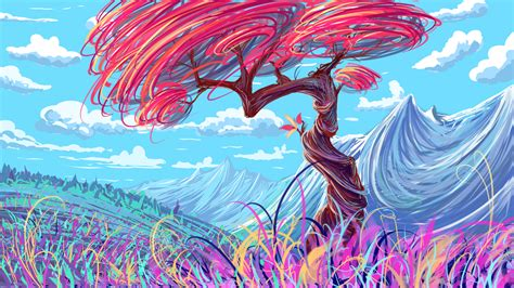 colorful tree colorful tree by hibelton on deviantart