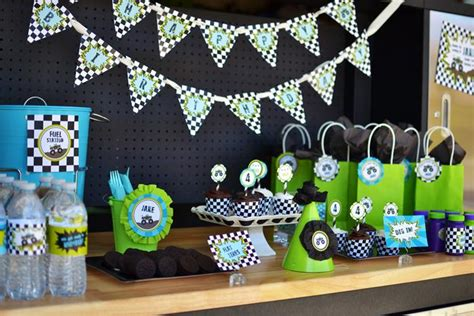 Truck Decorations by Kara S Ideas Truck Birthday Via Kara S