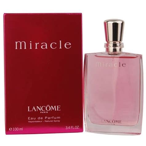 Acrylic Boxs Parfum Tempat Parfum miracle by lancome for 3 4 oz eau de parfum spray new in box sealed 3147758029383 ebay