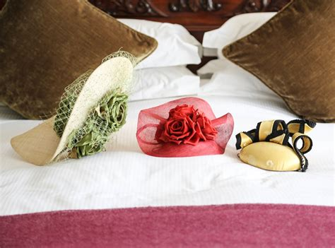 hat on the bed hats on the bed but it s kate middleton s room so it s