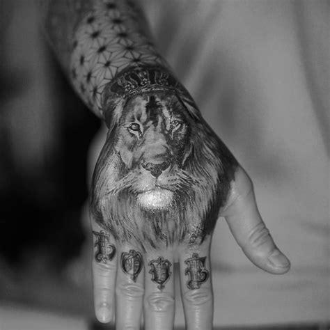 48 best lion hand tattoo best 25 finger tattoos ideas on matching