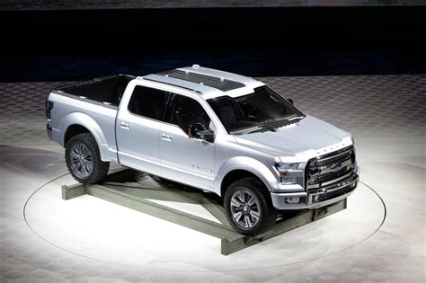 future ford trucks ford atlas concept f 150 is the future of ford motor co