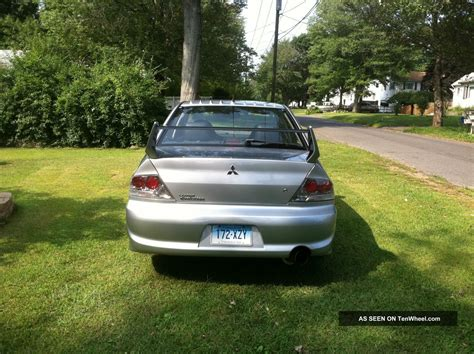 2004 Mitsubishi Lancer Evolution Sedan 4 Door 2 0l