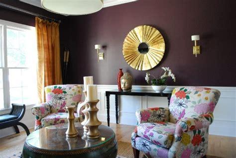 purple  gold living room designs decorating ideas