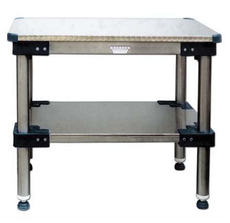 tavolo da lavoro in acciaio tavoli da lavoro con piano sopra e sotto in acciaio inox