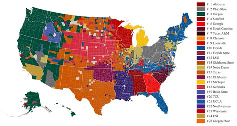 map usa football teams data now give us the best map of college football