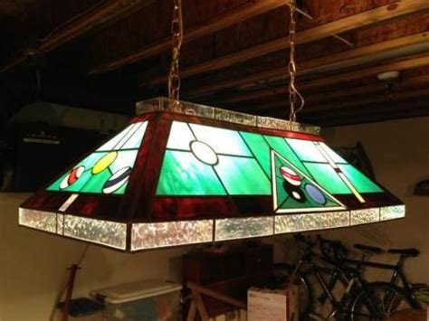 stained glass pool table light stained glass pool table light fixture stained glass