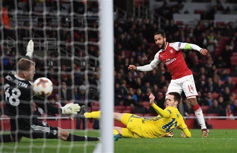 arsenal bate borisov arsenal 6 0 bate festival de goles en el emirates