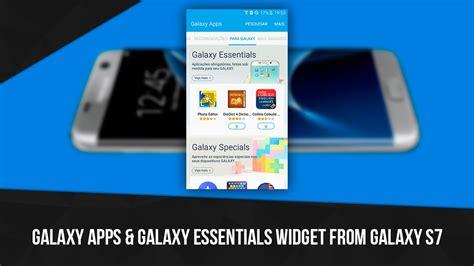 galaxy apps galaxy essentials widget from galaxy s7 apk