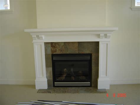 arts and crafts mantel diy plans
