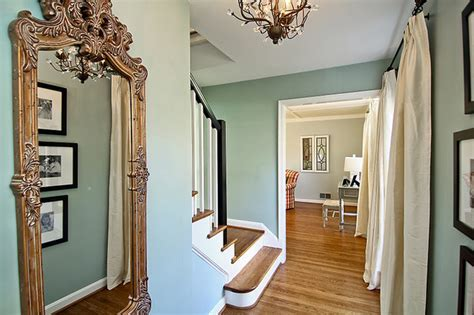 Foyer Paint Colors Benjamin by Benjamin Wythe Blue Foyer