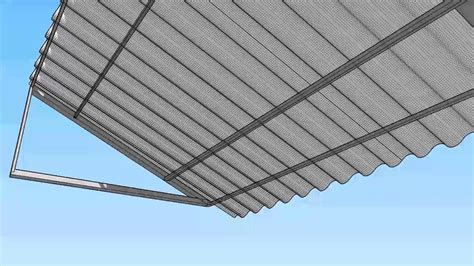corrugated metal awning corrugated metal awning youtube
