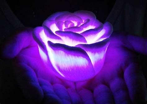 Creative Desk Lamps Romantic Idea Of The Led Light Roses The Collection Of