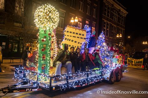 christmas lights knoxville tn 2015 knoxville christmas parade inside of knoxville
