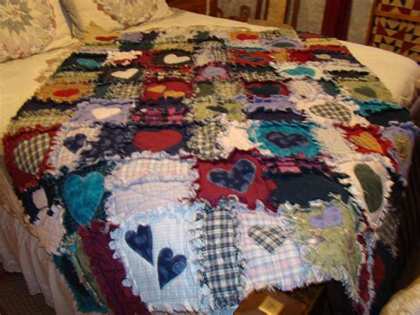 Raggedy Quilt by Rag Quilt Quilt