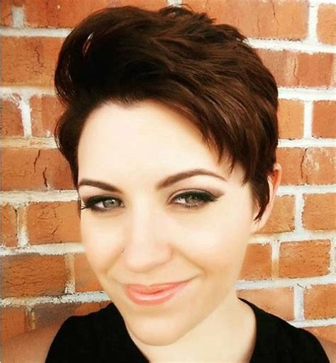 pixie feather cut pixie haircuts for thick hair 40 ideas of ideal short