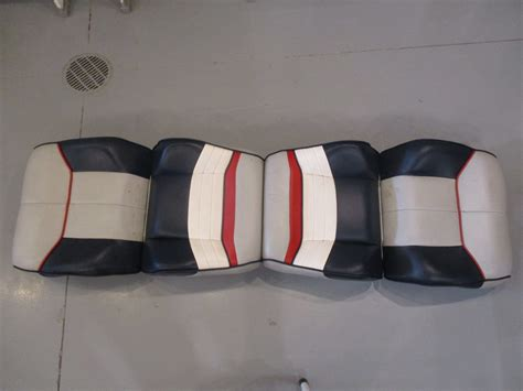 back to back boat seats uk back to back boat seats for 1990 bayliner capri blue grey
