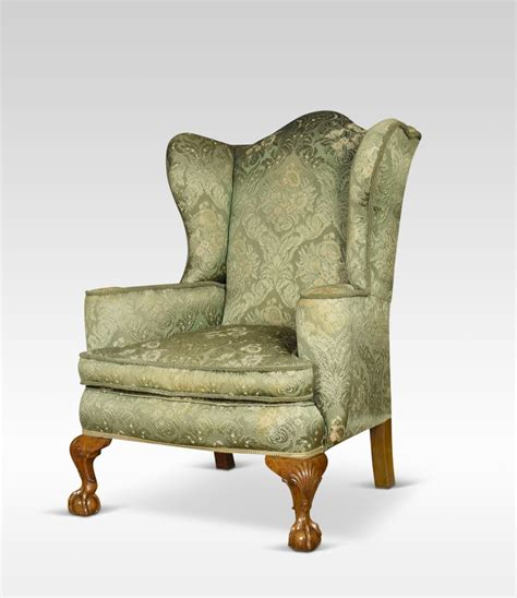 wing armchairs pair of george iii style wing armchairs antiques atlas
