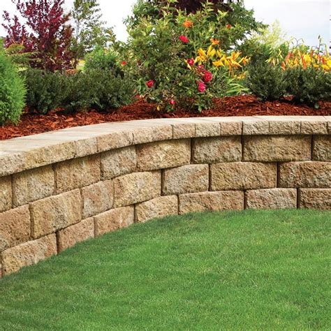 Create A Landscape You Love Belgard Blocks Are Ideal For Retaining Wall Garden Bed