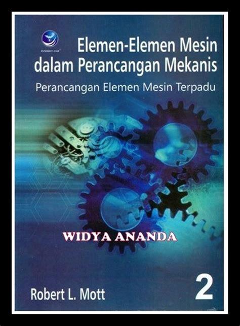 jual elemen elemen mesin dalam perancangan mekanis buku 2 di lapak widya ananda adhimasbhre