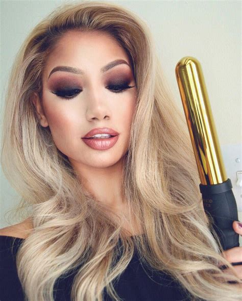 review of bombay hair curler 32mm rose gold curling wand bombay hair