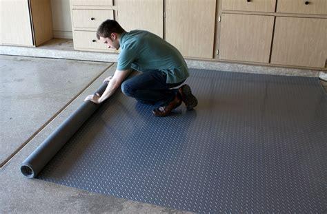 Diamond Nitro Rolls   Roll Out Vinyl Garage Floor Covering