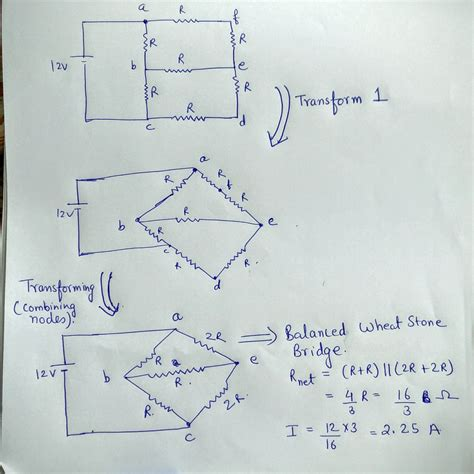 resistor circuit problems and solutions series and parallel circuit problem electrical engineering stack exchange