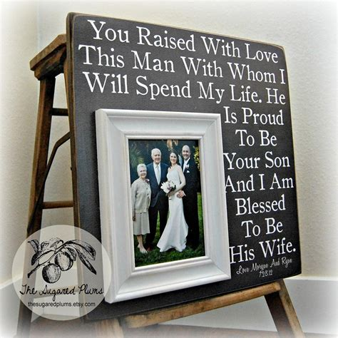 gifts for his parents parents of the groom gift of the groom of the
