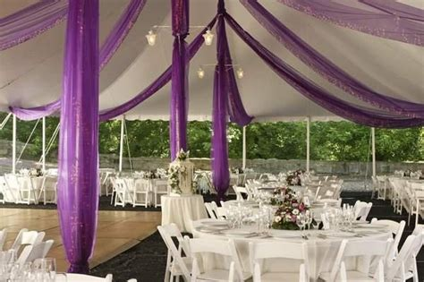How To Decorate A Tent For A Wedding Reception by Use Fabric To Decorate Wedding Tents Inspiration For