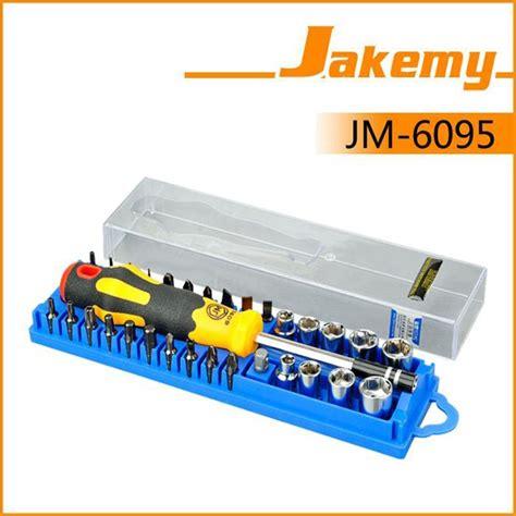 Jakemy 33 In 1 Removal Bit Screwdriver Set Jm 6093 jakemy jm 6095 33 in 1 repair torx driver screwdrivers kit set precision telecom