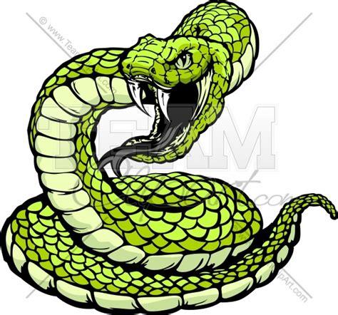 rattlesnake clipart snake striking clipart