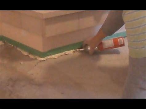 Concrete Floor Crack Repair before Putting Self Leveling