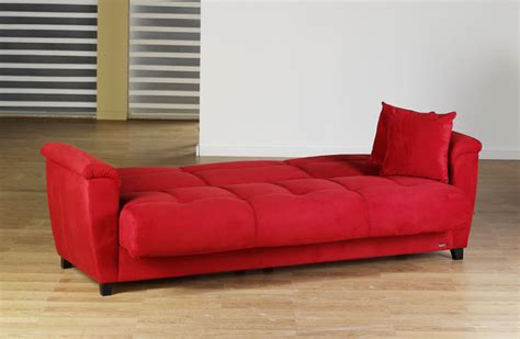 red convertible sofa aspen rainbow red convertible sofa bed by sunset