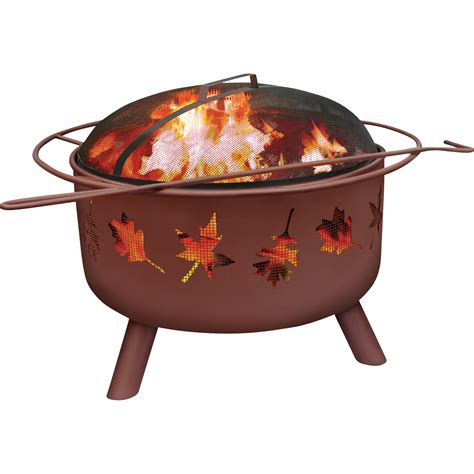 Landmann Firepits Landmann Pit With Accessories Big Sky Tree Leaves Model 28673 Firepits Patio Heaters