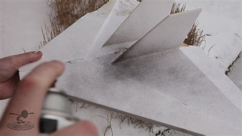 spray paint on foam board painting foam board flite test