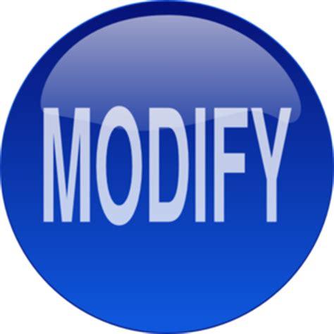 blue modify button clip at clker vector clip royalty free domain