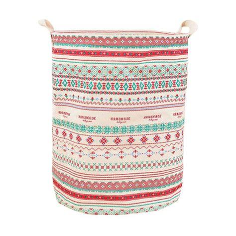 Harga Keranjang Laundry by Jual Homestuff Motif Batik Linen Laundry Bag Keranjang