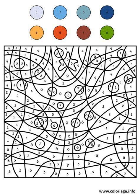 Coloriage Magique Sapin Cm1 Noel Dessin