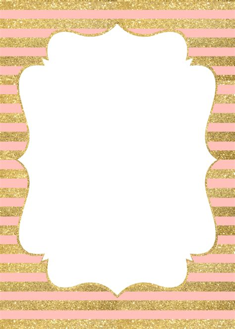 invitation gold and pink   Buscar con Google   baby shower´s   Pinterest   Gold, Google and Babies