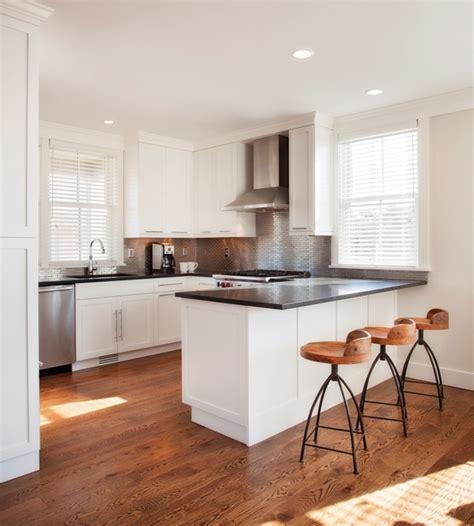 peninsula countertop white kitchen peninsula with black countertop