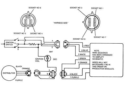 ford duraspark module wiring diagram duraspark ii