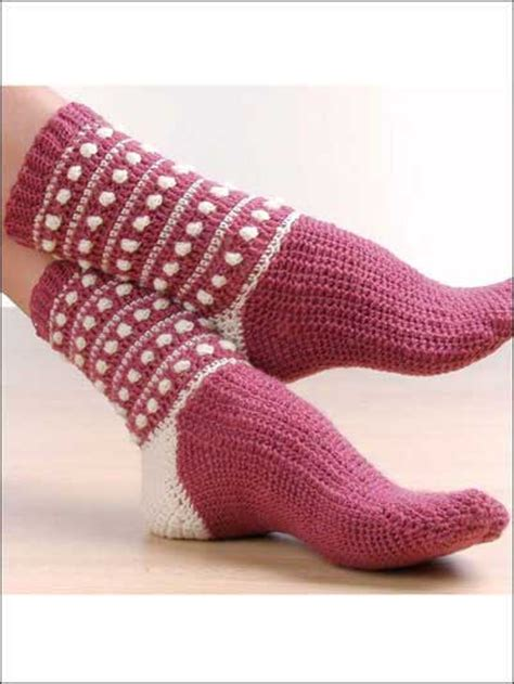sock crochet crochet socks free patterns grandmother s pattern book