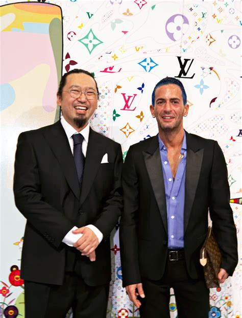 And Takashi Murakami Honours Marc by On Reflection Marc And Louis Vuitton Buro 24 7