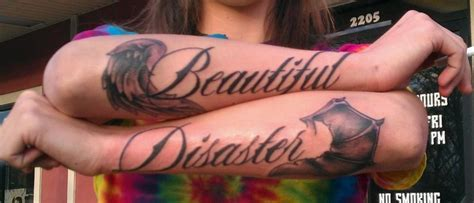 beautiful disaster tattoo beautiful disaster tattoos